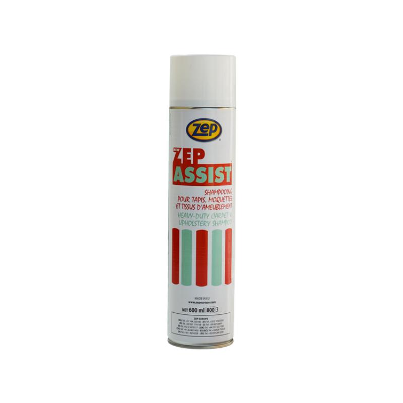 Assist limpiador espumoso en seco para tapicería y enmoquetado.