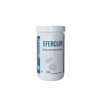Eferclor desinfectante clorado en pastillas