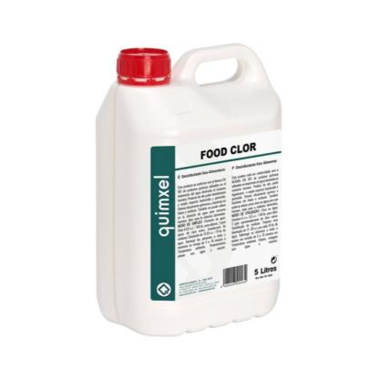 Food clor desinfectante uso alimentario