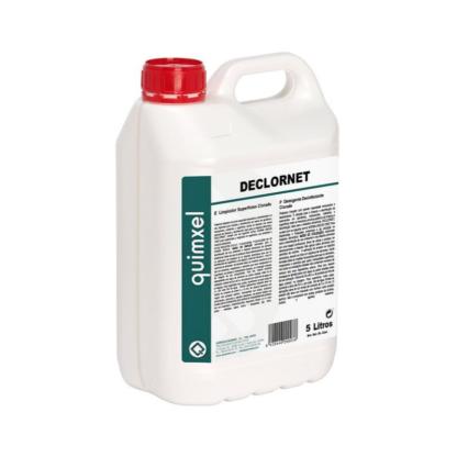 Declornet limpiador de superficies clorado