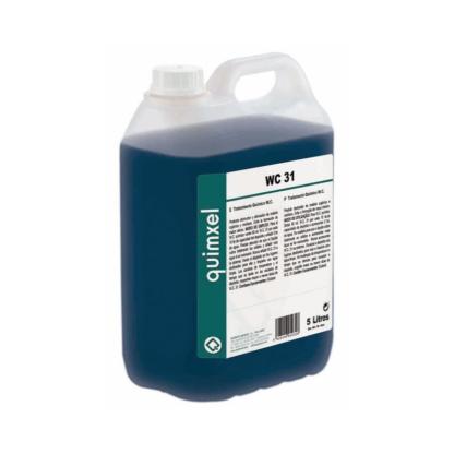 WC 31 tratamiento químico para WC portátil y caravanas
