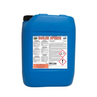 antiicrustante y dispersante para generadores de vapor formulado para calderas con agua caracterizadas por altos valores de dureza Boiler sperse