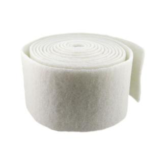 Rollo de fibra blanca