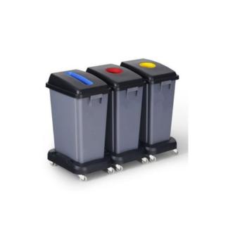 Pack de contenedores de reciclaje